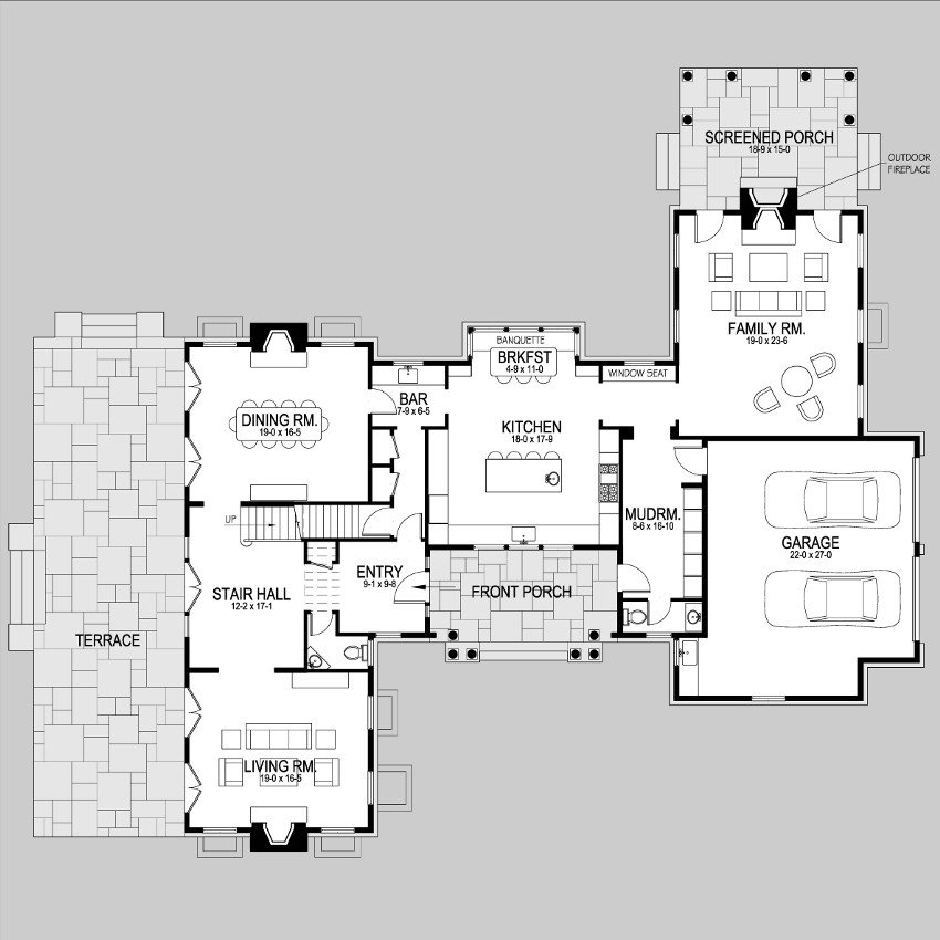 Shingle style home plans z1no first