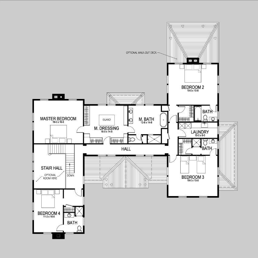 Moose second floor