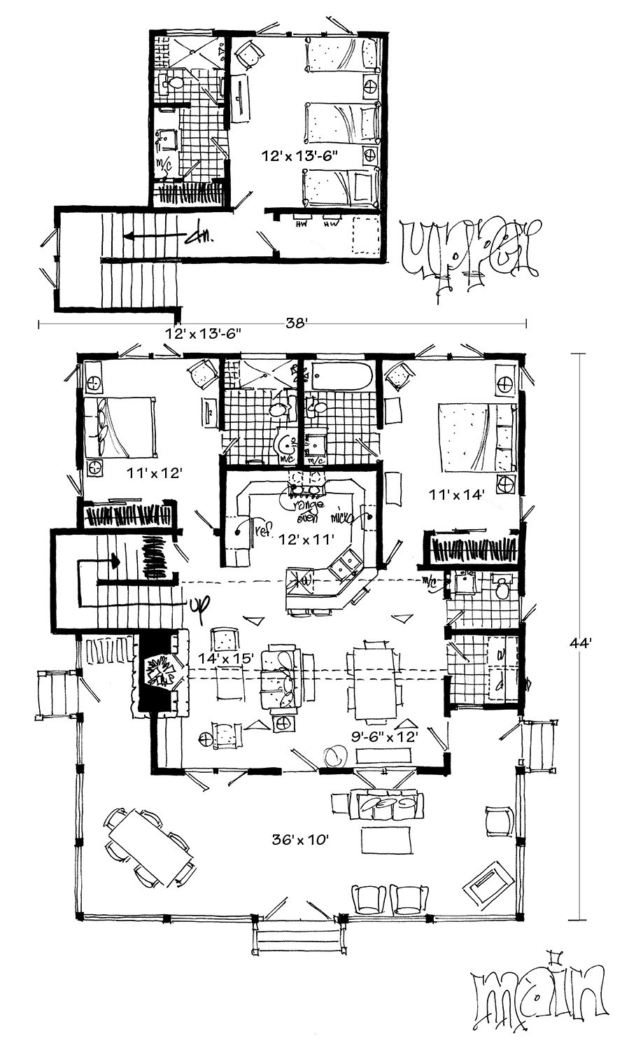 diagram of bunkhouse plantribe the marketplace to buy and sell house plans  marketplace to buy and sell house plans